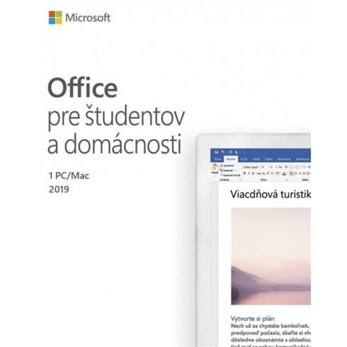MS Office Home and Student 2019 SK