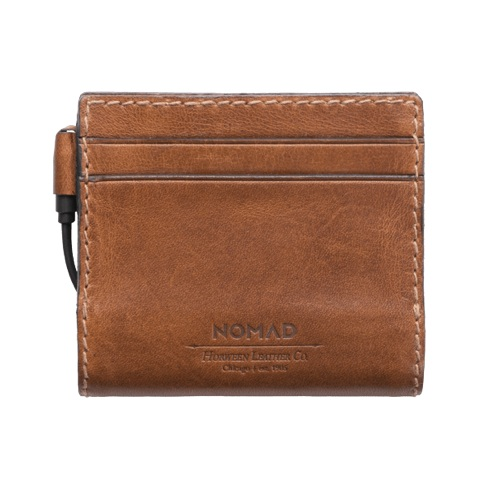Nomad Leather Charging Slim Wallet - Rustic Brown