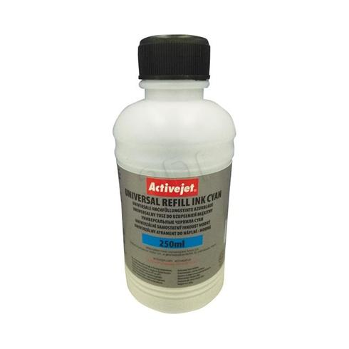 Refill system ActiveJet Universal cyan 250ml
