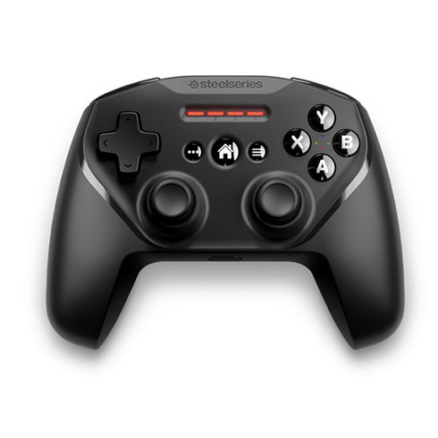 SteelSeries Nimbus+  Wireless Game Controller with phone mount