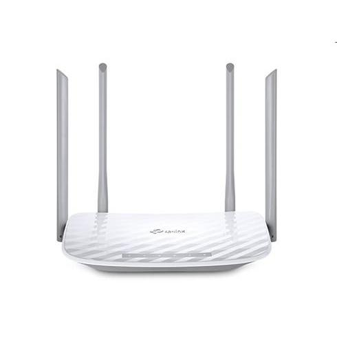 tp-link Archer C50, Dual Band Wireless Router, 1200Mbit/s, 802.11ac/a/b/g/n, 1xWAN, 4xLAN, 2 fixné antény