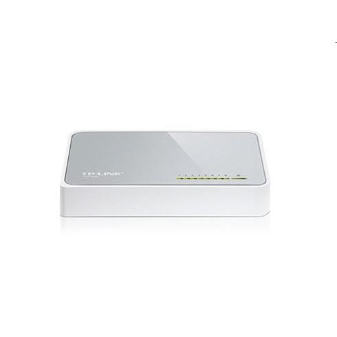 tp-link TL-SF1008D, 8 port mini Desktop Switch, 8x 10/100M RJ45 ports, plastic case