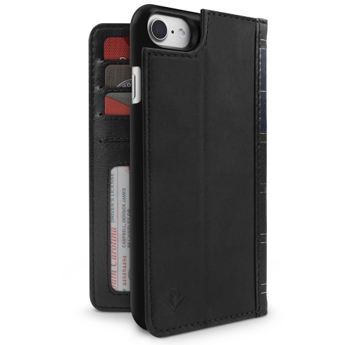 TwelveSouth puzdro BookBook pre iPhone 7/8 - Black