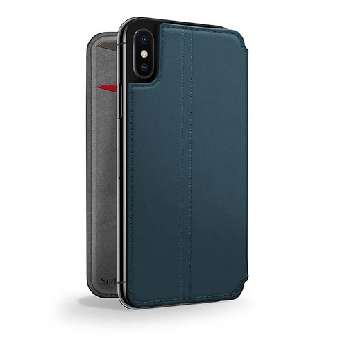 TwelveSouth puzdro SurfacePad pre iPhone X/XS - Teal