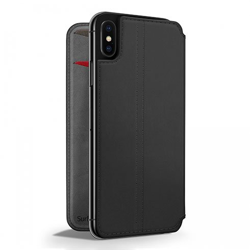 TwelveSouth púzdro SurfacePad pre iPhone XS Max - Black