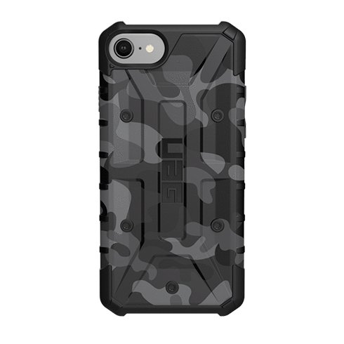 UAG kryt Pathfinder SE pre iPhone 8/7/6s - Midnight Camouflage