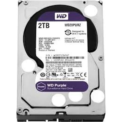 "WD 2TB Purple 3,5""/SATAIII/5400-7200/64MB, IntelliPower"