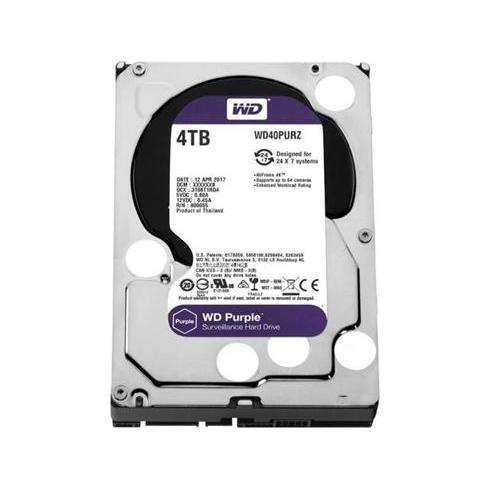 "WD 4TB Purple 3,5""/SATAIII/5400-7200/64MB, IntelliPower"