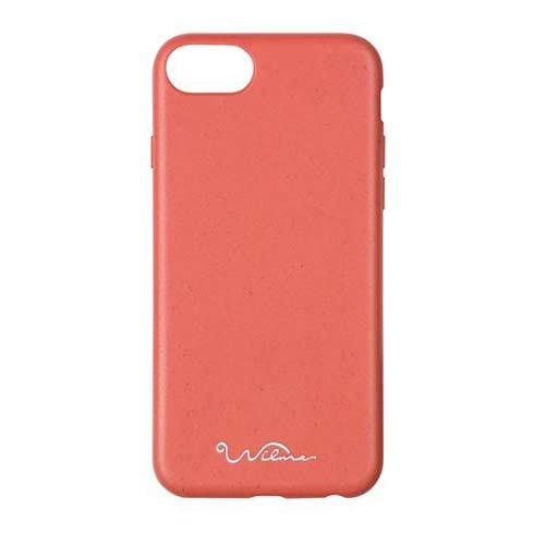 Wilma kryt Eco Case pre iPhone 6/7/8/SE 2020 - Essential Red