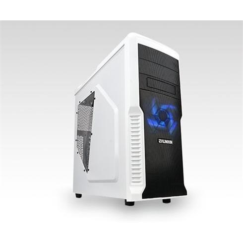 Zalman case Z3 Plus White, USB 3.0, black-white, bez zdroja, ATX