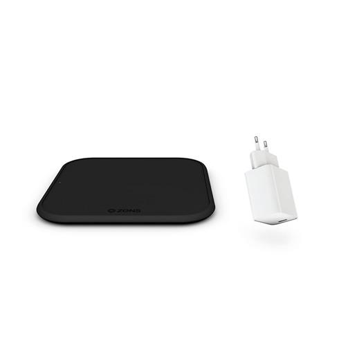 ZENS iPhone 12 Starter Kit - Single Wireless 10W + 18W USB-C PD charger