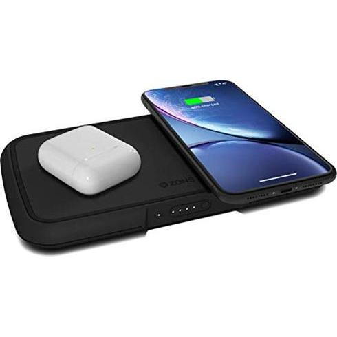 ZENS Power Bank Dual Wireless Charger 9000 mAh