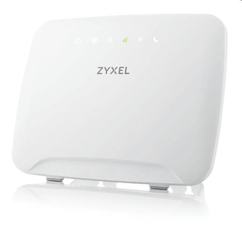 Zyxel 4G LTE Cat4 802.11ac WiFi Router, 150Mbp LTE, 4GBE LAN, Dual-band AC1200 MU-MIMO, optional ext. LTE antenna