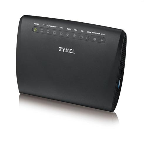 Zyxel VMG3312-T20A VDSL2 profile 17a over POTS Gateway, GbE WAN, 4FE LAN, 1 USB 2.0, WiFi 11n 2.4GHz 300Mbps, EU+UK STD version